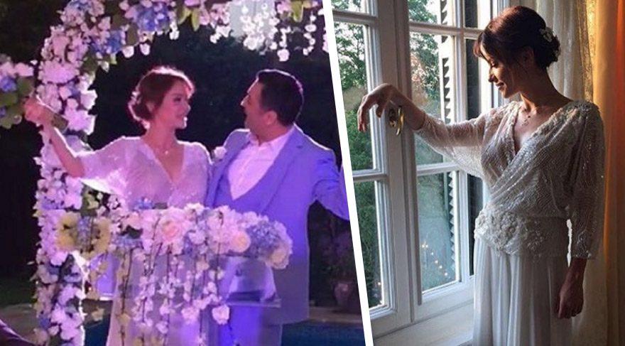Kiralık Aşk'ın Yasemin'i Sinem Öztürk Mustafa Uslu ile evlendi