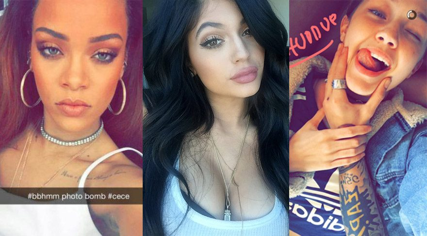Snapchat'te takip etmeniz gereken 5 ünlü hesabı