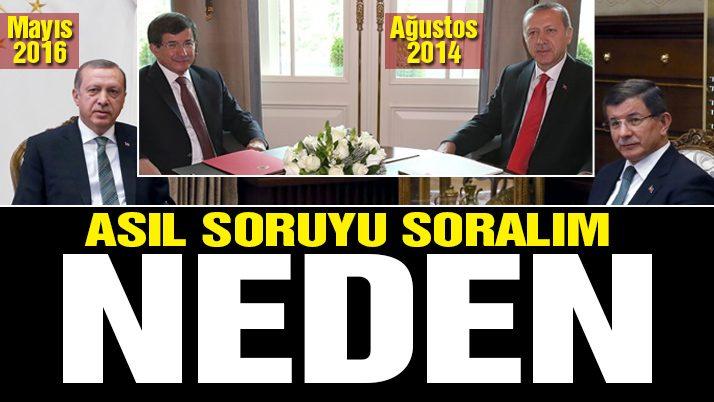 Davutoğlu krizinin perde arkası