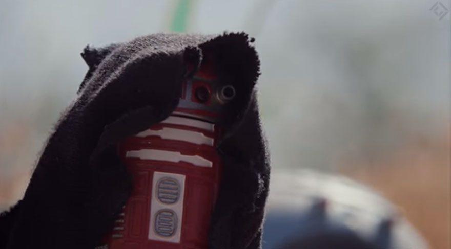 Star Wars savaş sahnelerini dronelar ile canlandırdılar