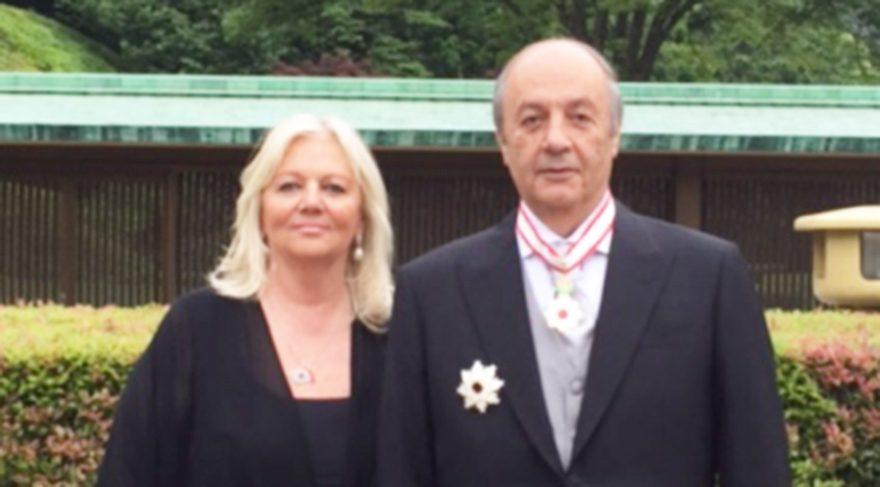 Türk iş adamına Japon İmparatoru'ndan madalya