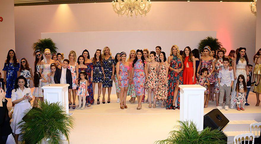 Ünlü anneler ve çocukları Türk Böbrek Vakfı için podyumda!