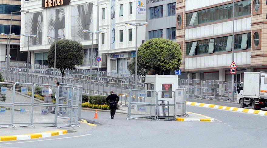 FOTO:DHA - Kültür merkezi ve çevresi şimdiden güvenlik çemberine alındıb