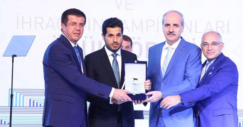 FOTO:DHA - Nihat Zeybekçi ile Numan Kurtulmuş Reza Zarrab'a verdikleri ödülle gündeme gelmişlerdi.