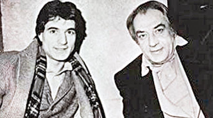 Mehmet Ali Erbil, babası Sadettin Erbil ile...
