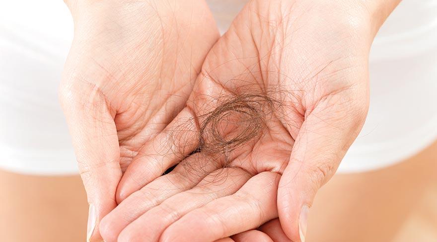 Saç dökülmelerine dikkat!