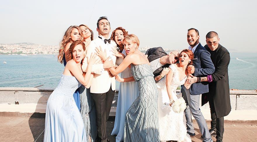 Avrupa Yakası'nda düğün