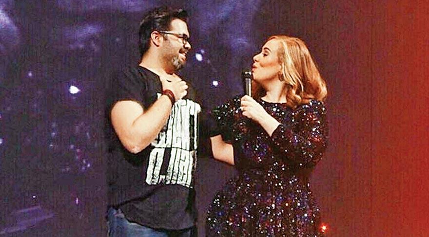 Adele onu seçti