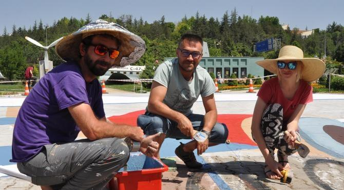 Havacılık Parkı'na ilk Türk sivil uçağının üç boyutlu resmi yapılıyor