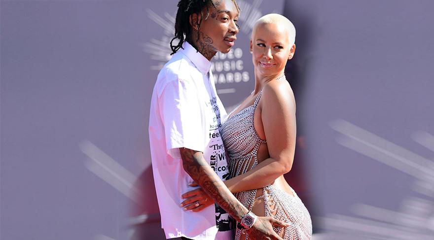 Amber Rose ve Wiz Khalifa boşandı