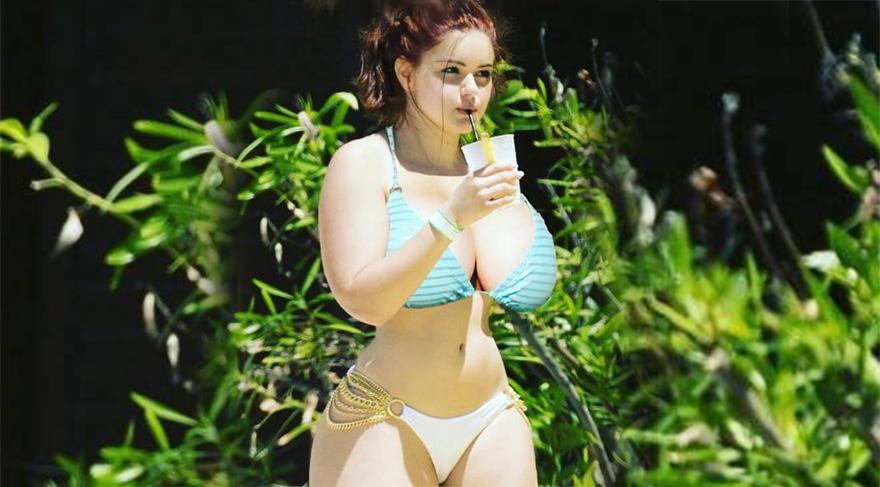 Ariel Winter'ın büyük göğüsleri sosyal medyada alay konusu oldu