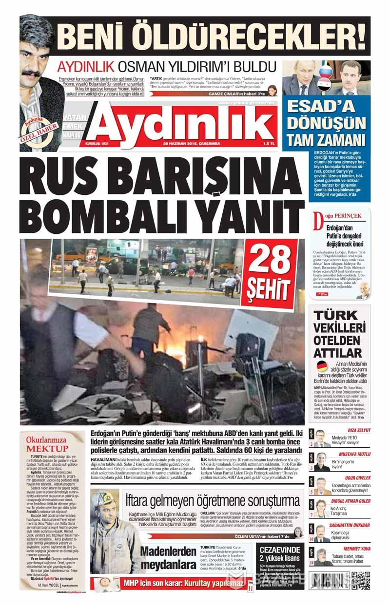İşte Atatürk Havalimanı saldırısıyla ilgili tüm haberler 56