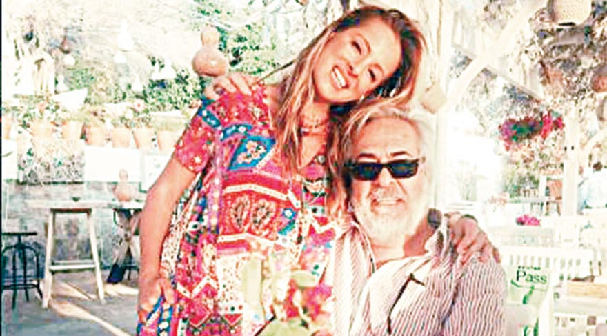 Doğa ve Rutkay Aziz, baba-kız özlem giderdi