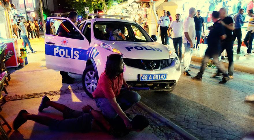 Mağaza çalışanlarının müşteri kapma kavgası: 14 yaralı, 25 gözaltı