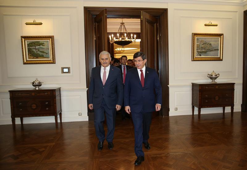 FOTO:DHA - Yıldırım geçtiğimiz ay yapılan kongre sonrası Başbakanlık görevini Ahmet Davutoğlu'dan devralmıştı.