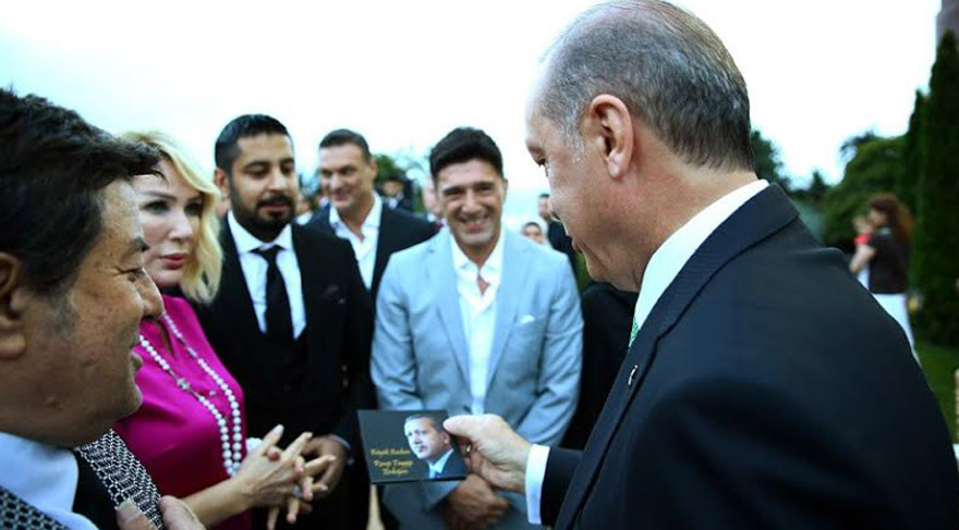Seda Sayan'ın sevgilisinden Erdoğan'a başkanlık şarkısı