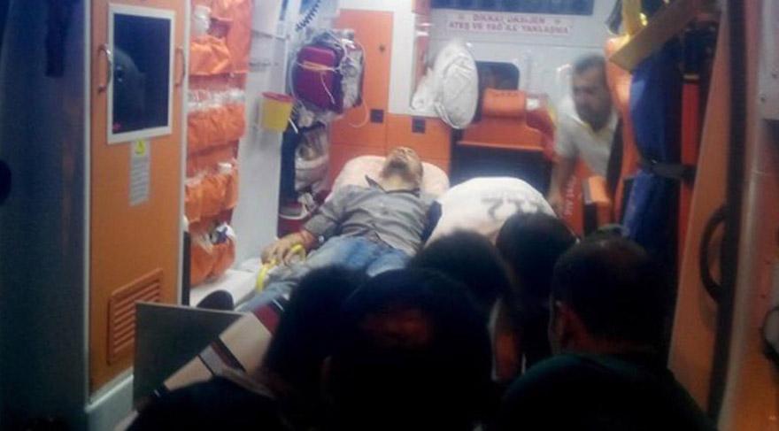 FOTO:DHA - Cumhur Özsoy geçtiğimiz yıl meydana gelen bir saldırıdan yaralı kurtulmuştu.