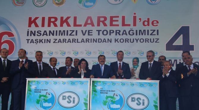 Bakan Eroğlu: Ergene 2017 yılında temiz akacak