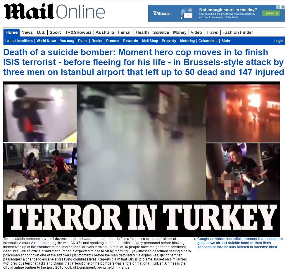 İşte Atatürk Havalimanı saldırısıyla ilgili tüm haberler 45