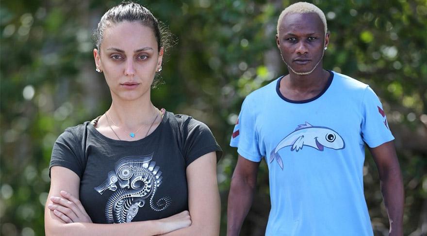 Ebru Öztürk ve Yattara Survivor finalini birlikte bekliyor