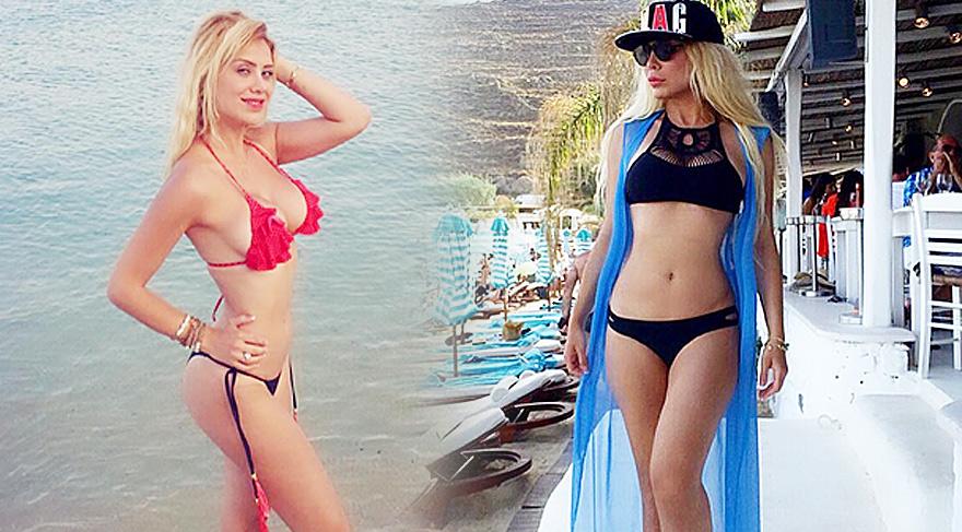 Esra Ersoy ve Ceyda Ersoy kardeşler nam-ı diğer Cicişler Yunan magazinine konuk oldu