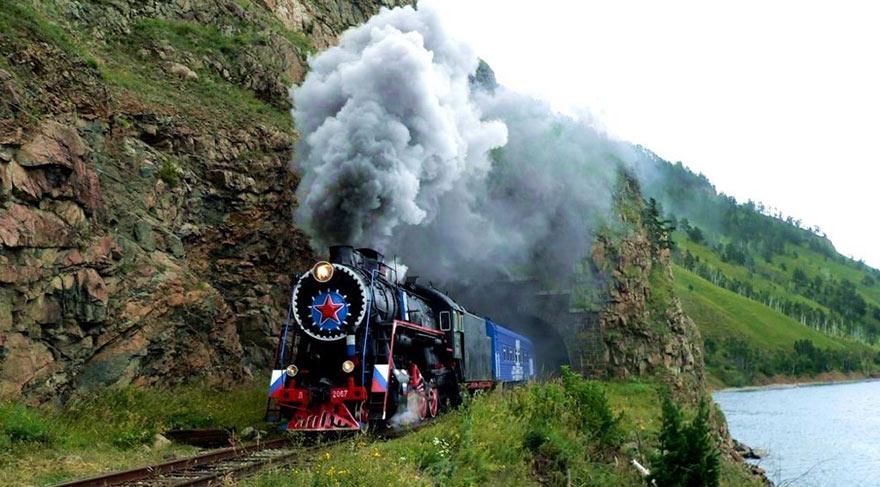 Film Tadında Manzaralara Sahip 8 Tren Rotası