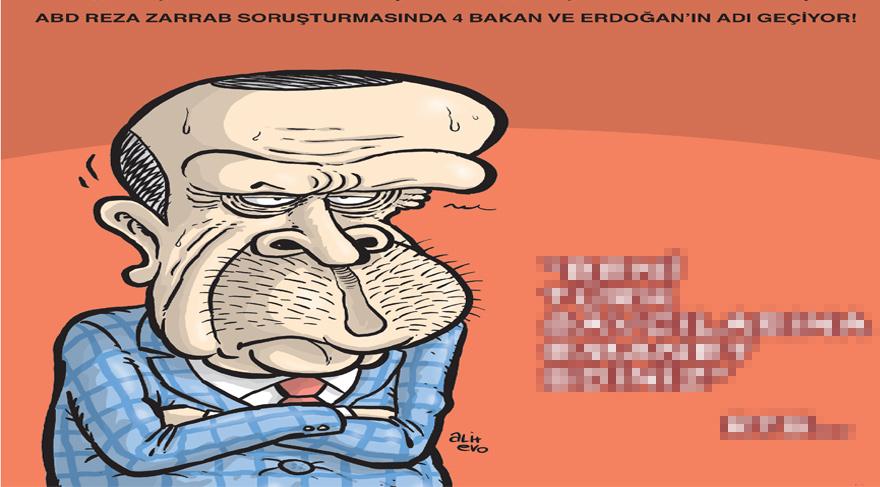 Reza soruşturması Gırgır kapağında