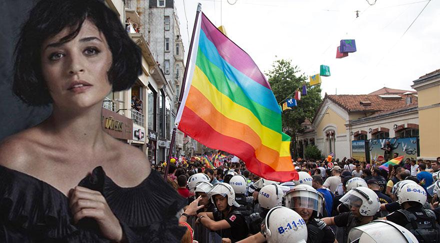 LGBTİ Onur Yürüyüşü'ne Gonca Vuslateri'den destek