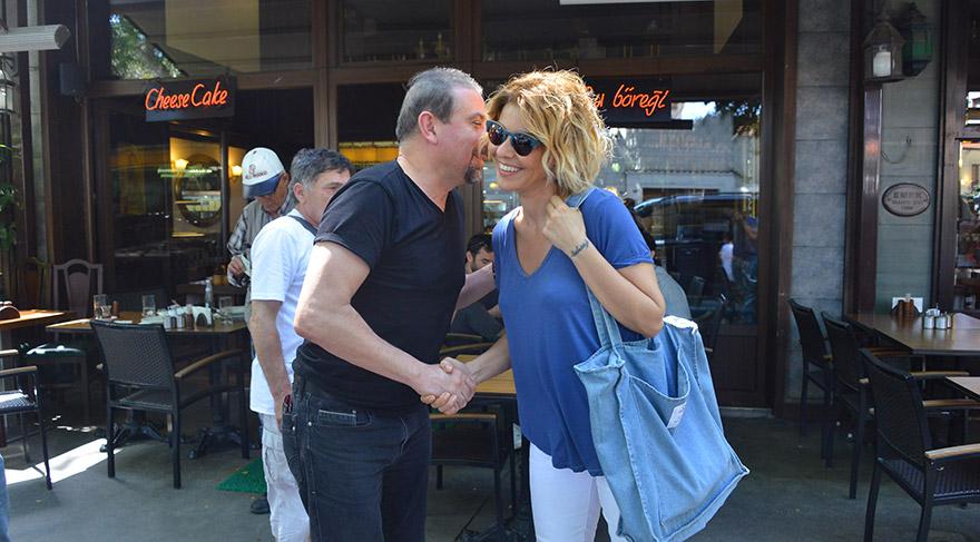 Gülben Ergen, eski eşi Mustafa Erdoğan ile yemekte görüntülendi