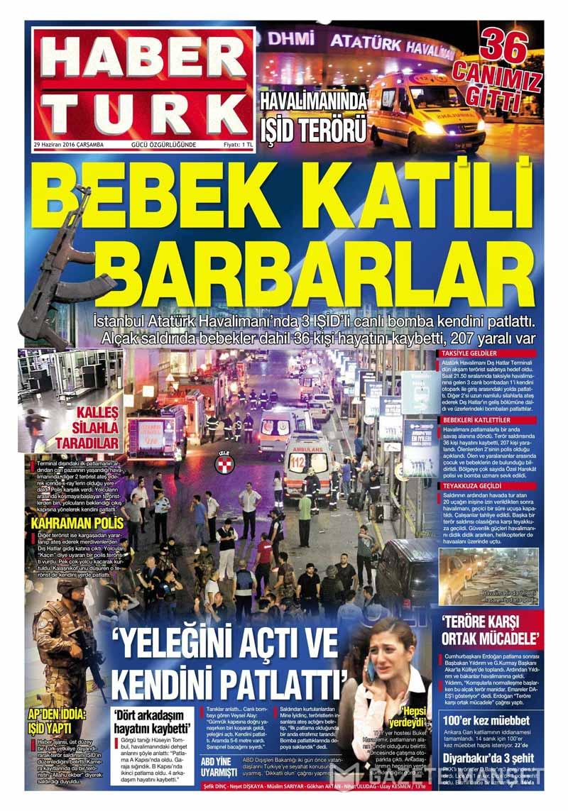 İşte Atatürk Havalimanı saldırısıyla ilgili tüm haberler 52