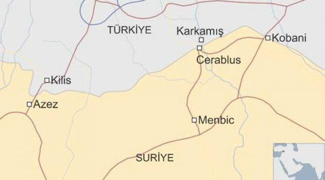 Harita BBC Türkçe'den alınmıştır.