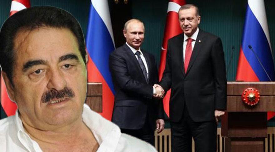 İbrahim Tatlıses'ten Cumhurbaşkanı Erdoğan'a övgüler