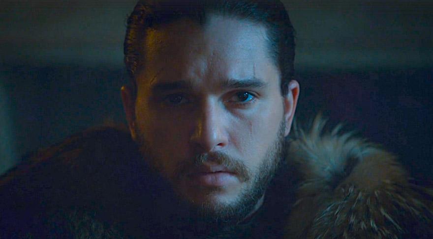 Jon Snow bardan atıldı!