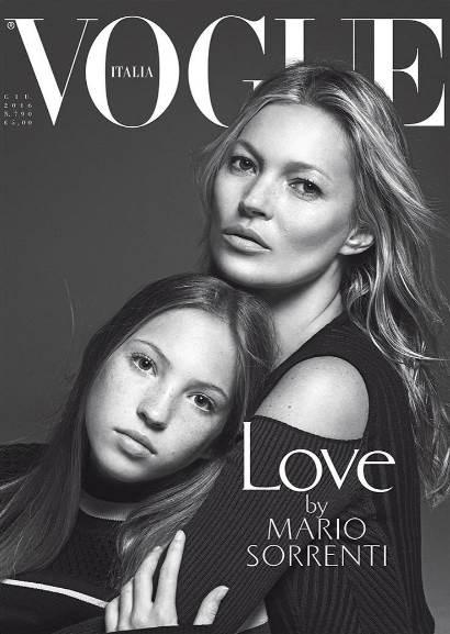 Kate Moss ve kızı
