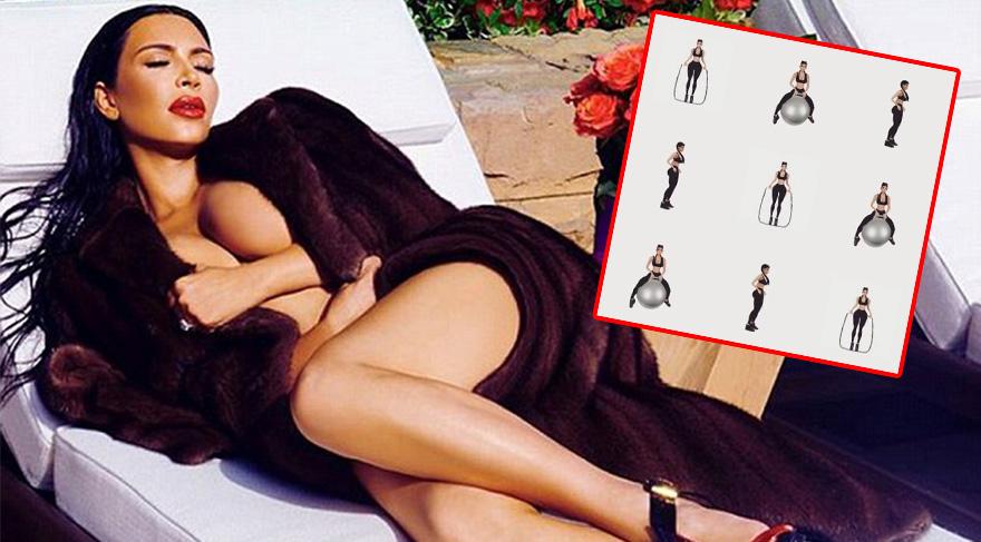 Kim Kardashian yeni emojilerini tanıttı