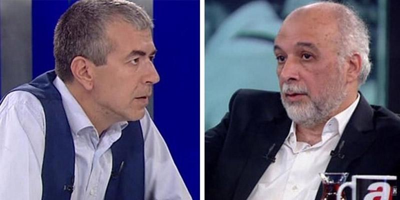 Cemil Barlas ile Latif Erdoğan A Haber'de Meral Akşener için kaset iftirasında bulunmuşlardı.