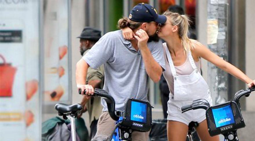 Leonardo DiCaprio ve bisikletli aşk hikayesi