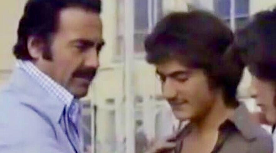 Mehmet Ali Erbil kariyerindeki ilk filmden bir kare paylaştı