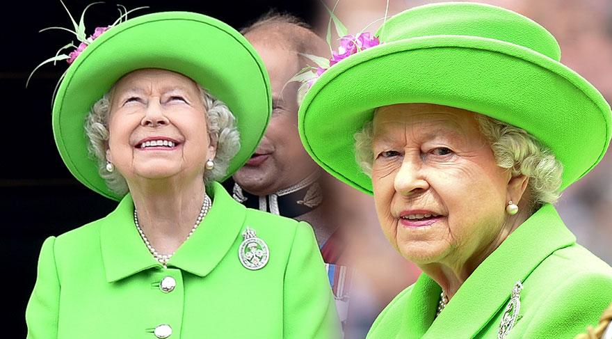 Kraliçe 2. Elizabeth'in 90. doğum günü stili
