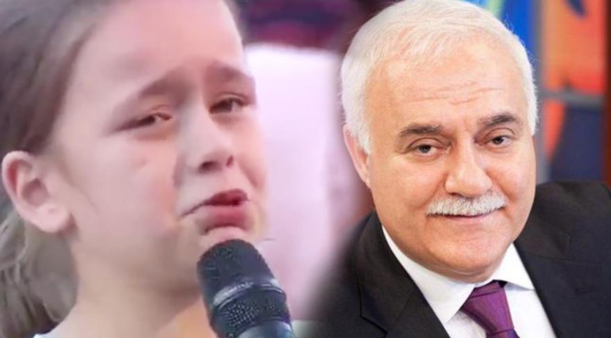 Nihat Hatipoğlu'nun programına küçük kızın sorusu damga vurdu