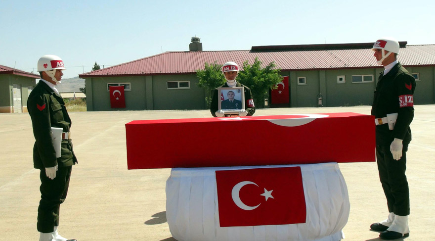 Nusaybin şehidi Astsubay Arif Çakır uğurlandı