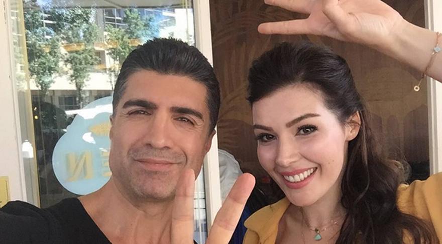 Özcan ve Hatice'den zafer selfiesi