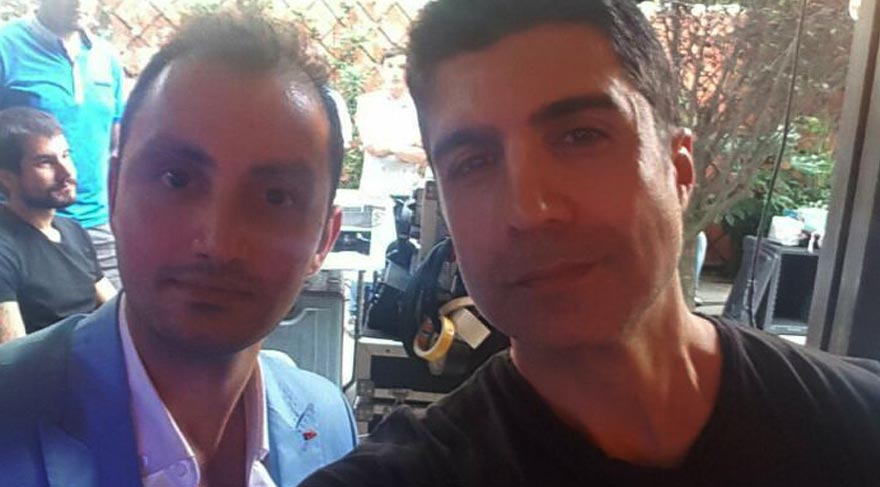 Özcan Deniz seri katile benzeyen oyuncuyla selfie çekti sosyal medya karıştı
