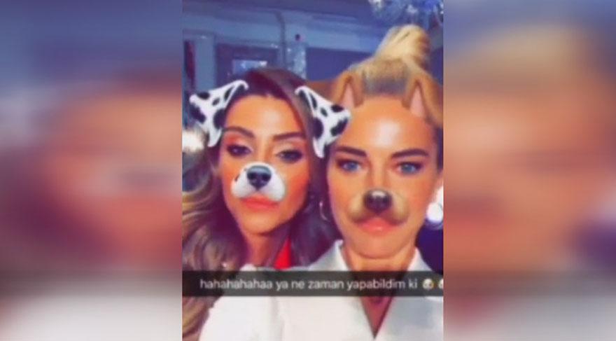 Ünlülerin Snapchat halleri