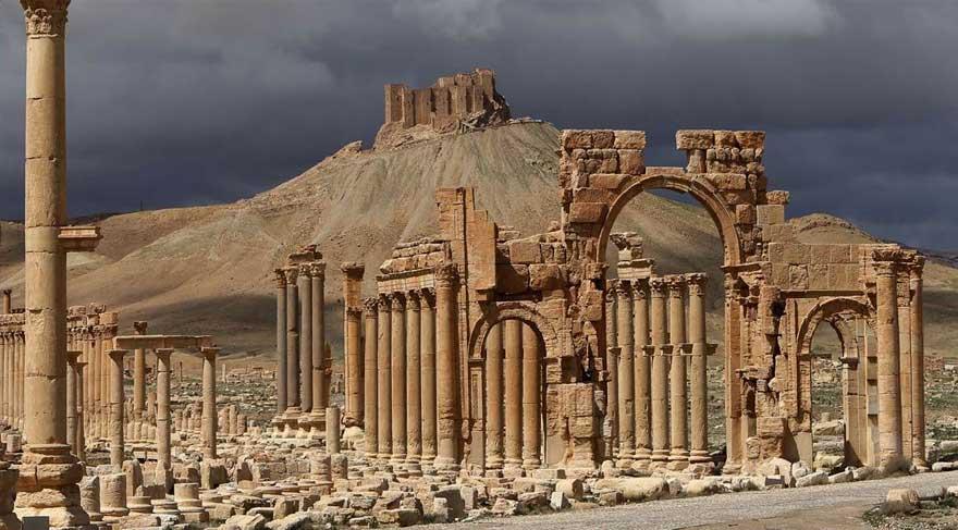 Palmira işgal altında