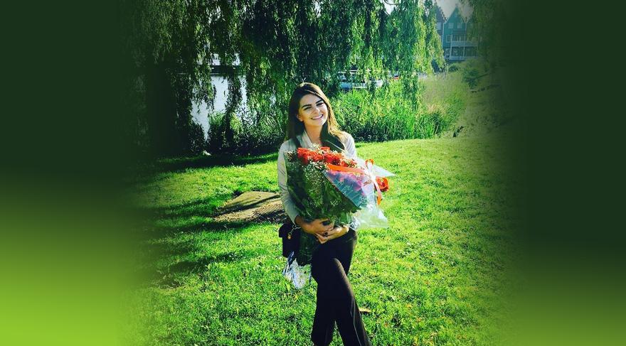 Pelin Karahan, eşi Bedri Güntay'la evliliğinin ikinci yılını kutluyor