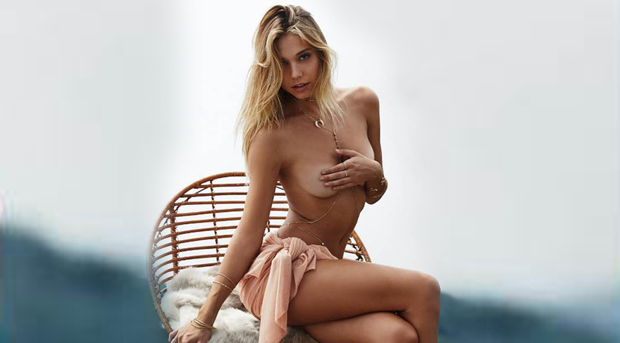 Alexis Ren 2017 Sports Illustrated Swimsuit için soyunacak