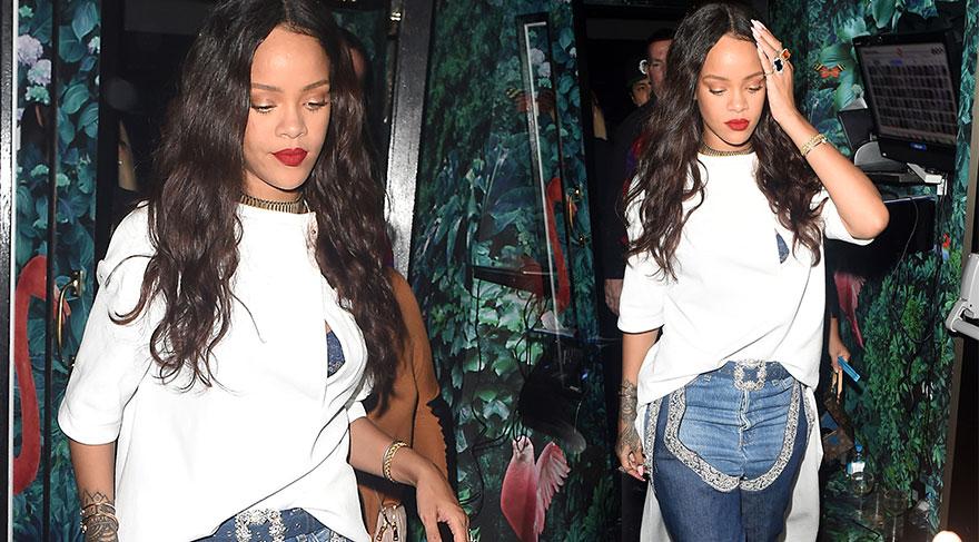 Rihanna'nın 4 bin dolarlık pantolon çizmesi