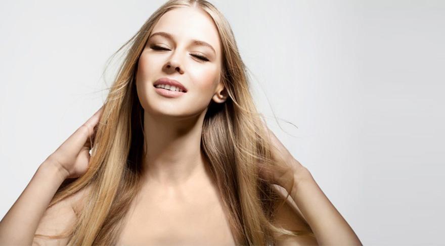 Saçları canlandıran uygulama