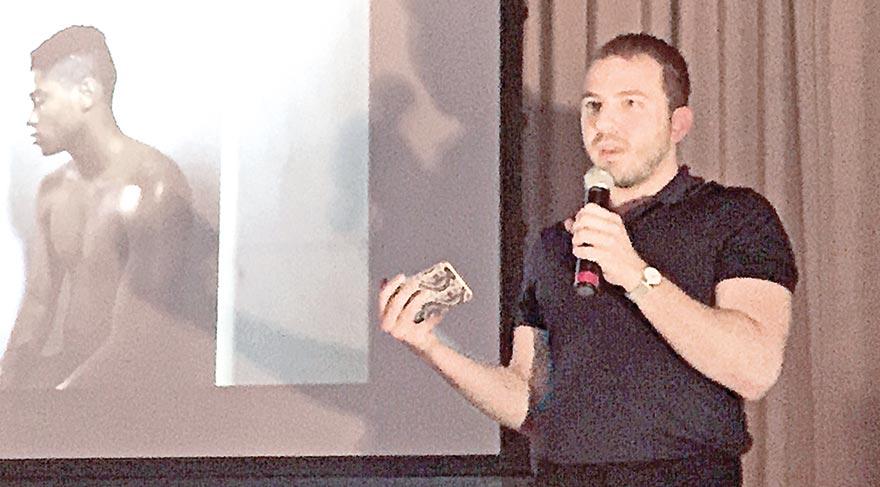 Sarp Kerem Yavuz geçen pazartesi Los Angeles'ta konuşma yaptı.
